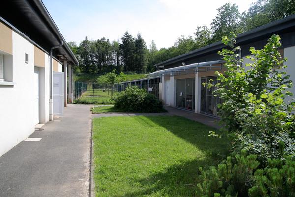 Vue d'ensemble du refuge SPA de Brive en Corrèze