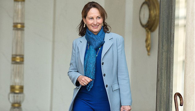 French minister for Ecology, Sustainable Development and Energy Segolene Royal leaves the Elysee Presidential Palace after the weekly cabinet meeting in Paris, FRANCE-21/10/2015 /NIVIERE_059NIV/Credit:NIVIERE/SIPA/1510211514